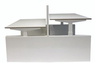 Doppelter Sitz-Steh-Schreibtisch - S2H Workbench