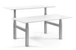 Doppelter Sitz-Steh-Schreibtisch - SteelForce 470 Workbench  Höhenverstellbarer Schreibtisch  Memory Display  verstellba