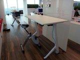 Y-desk mit Deskbike