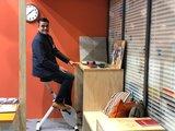 Deskbike Weiss