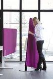 Zwischenwand für Schreibtisch oder Boden – Akustikschutz  Lärmschutz am Arbeitsplatz  geräuschd&#x0