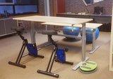 Fitdisc Balanceboard  worktrainer.de stehen  Abwechslung  Gesund  Gleichgewicht  Körperhaltung  Beinmuskulatur Rü
