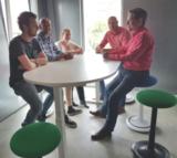 Ongo Classic - Bürohocker Tall| worktrainer.de| Bürostuhl| aktives Sitzen| Gesund am Arbeitsplatz|Meeting|Tagung