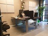 Schreibtisch-Schutzwand zum Aufstellen  worktrainer.de  Privatsphäre bei der Arbeit   verbesserte Konzentration