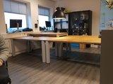 Sitz-Steh-Tisch mit 4 Beinen - HonMove    Gesund und aktiv arbeiten  worktrainer.de   Körperhaltung   Bewegung