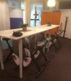 aSitz-Steh-Tisch mit 4 Beinen - HonMove    Gesund und aktiv arbeiten  worktrainer.de   Körperhaltung   Bewegung