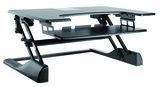 Sitz-Steh-Erhöhung - UPdesk XL - Gasfeder| Effizient, gesund und ergonomisch arbeiten | aktive Körperhaltung| Wor