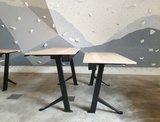 Sitz-Steh-Schreibtisch Y-Desk Schwarz frame Bleiben Sie fit mit unseren ergonomische höhenverstellbare Schreibtische