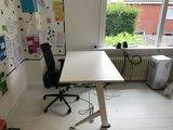 Sitz-Steh-Schreibtisch Y-Desk Bleiben Sie fit mit unseren ergonomische höhenverstellbare Schreibtische | Worktrainer.de