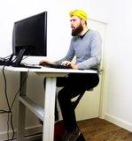 Deskbike Radfahren bei der Arbeit | Radeln Sie Sich fit mit unseren ergonomische Deskbike | Worktrainer.de
