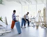 Stand-Up Hocker   bürohocker   bürostuhl   Sitzen Sie gesund auf unseren ergonomische Burostuhlen   Worktrainer