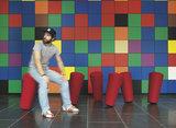 Stand-Up Hocker rot   bürohocker   bürostuhl   Sitzen Sie gesund auf unseren ergonomische Burostuhlen