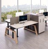 Oak Desk Workbench Elektrisch höhenverstellbarer Schreibtisch   Stehen Sie gesund hinter unseren ergonomischen Arbeitspl