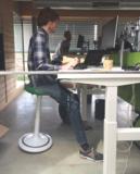 Ongo Classic Balance Hocker   Sitzen Sie gesund auf unseren ergonomische Burostuhlen   Worktrainer.de