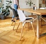 Numo mit Holzbeine Sitzen Sie gesund auf unseren ergonomische Burostuhlen | Worktrainer.de