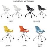 Numo mit Rollen Sitzen Sie gesund auf unseren ergonomische Burostuhlen | Worktrainer.de