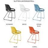 Slitten Untergestell Konferenzstuhl | aktive sitzen| fit auf Arbeitsplatz | Worktrainer.de