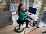 Sitz-Steh-Schreibtisch Y-Desk mit Swopper Bleiben Sie fit mit unseren ergonomische höhenverstellbare Schreibtische