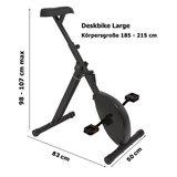 Deskbike large | Radeln Sie Sich fit mit unseren ergonomische Deskbike | Worktrainer.de