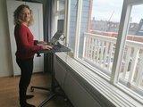 Single Leg Desk Sitz-Steh-Schreibtisch | Ergonomisch arbeiten | Worktrainer.de