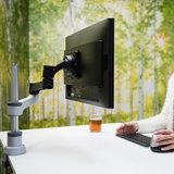 Monitorarm Einzel Zepher   Zubehör für Ihren Schreibtisch Worktrainer.de