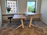 Sitz-Steh-Schreibtisch Y-Desk Bleiben Sie fit mit unseren ergonomische höhenverstellbare Schreibtische | Worktrainer