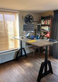 Oak Desk Elektrisch höhenverstellbarer Schreibtisch   Worktrainer.de