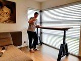 Oak Desk Elektrisch höhenverstellbarer Schreibtisch   Stehen Sie gesund hinter unseren ergonomischen Arbeitspl&#