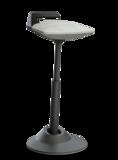 Aeris Muvman Blau Schwarz Muvman Stehhilfe | Sitzen Sie gesund auf unseren ergonomische Burostuhlen | Worktrainer.de