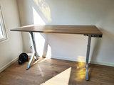 Sitz-Steh-Schreibtisch Y-Desk Bleiben Sie fit mit unseren ergonomische höhenverstellbare Schreibtische   Worktrainer