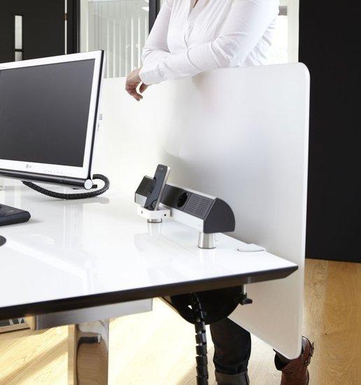 Tischblende - Screenz Plexiglas