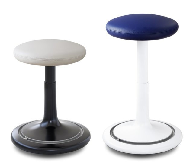 Bürohocker - Ongo Classic Tall - Leder