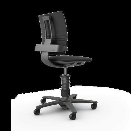 Active Office Chair - 3Dee - Premium Leder