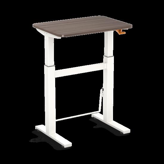 Kleiner Sitz-Steh-Schreibtisch - BouncyDesk - Gasfeder