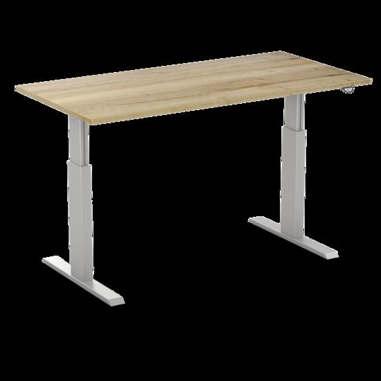 Sitz-Steh-Schreibtisch AluForce 140 - Elektrisch
