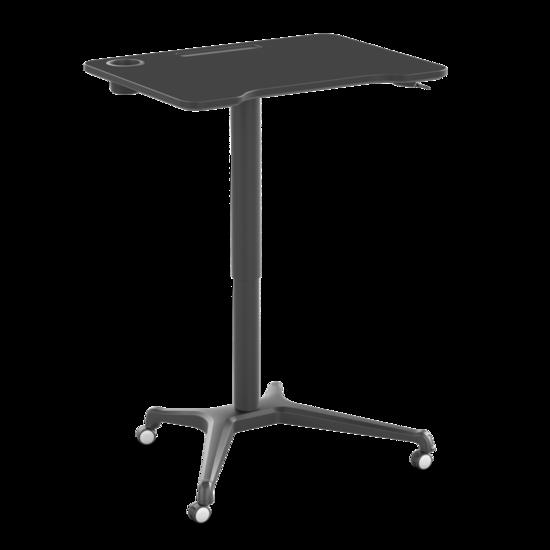 Kleiner Sitz-Steh-Schreibtisch - Single Leg Desk