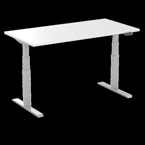 Sitz-Steh-Schreibtisch - SteelForce 470