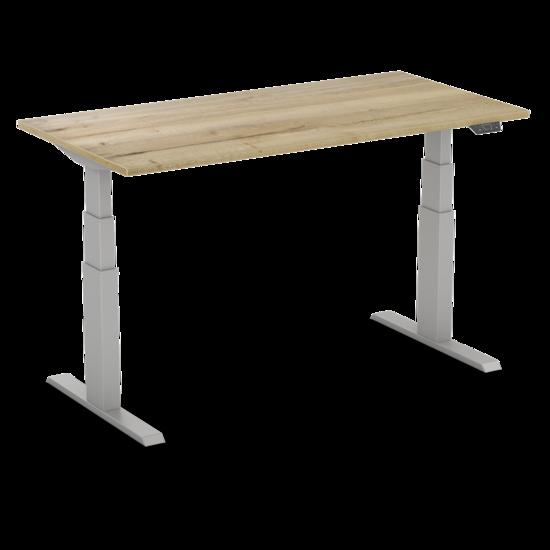 Sitz-Steh-Schreibtisch - SteelForce 270