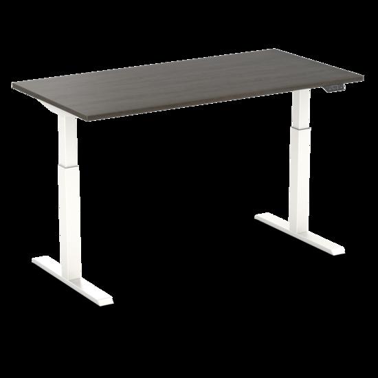 Sitz-Steh-Schreibtisch - SteelForce 370