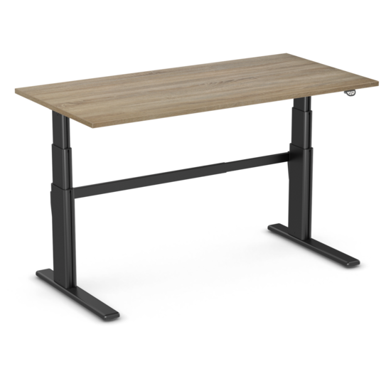 Sitz-Steh-Schreibtisch - AluForce 270