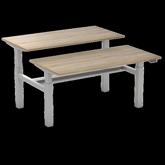 Sitz-Steh-Doppelschreibtisch - Honmove Duo