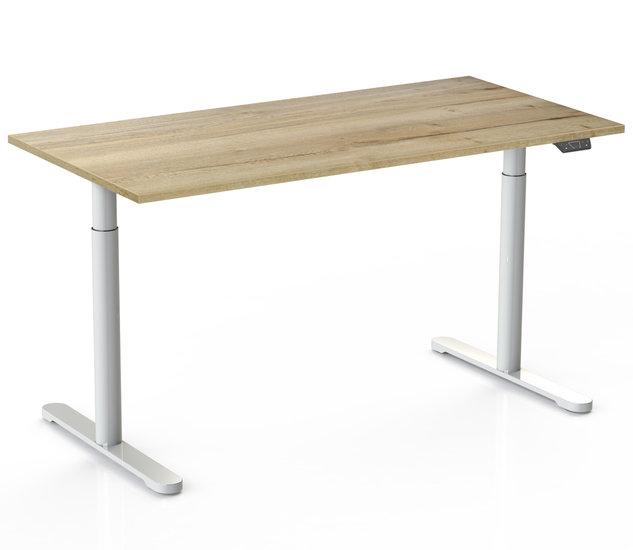 Sitz-Steh-Schreibtisch - SteelForce 770