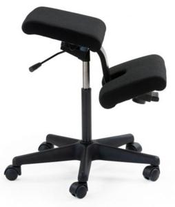 Varier Wing - Kniestuhl| worktrainer.de| ergonomisch Arbeiten | Unterstützung der Kniehaltung