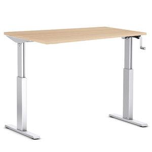 A140 handmatig verstelbaar bureau