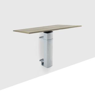 Sitz-Steh-Tisch 501/19 Wall| worktrainer.de | Gesund am Arbeitsplatz| sitzen und stehen| Gruppenarbeit| aktive Körperhal