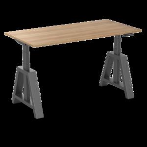 Oak Desk Elektrisch höhenverstellbarer Schreibtisch   Stehen Sie gesund hinter unseren ergonomischen Arbeitsplätz